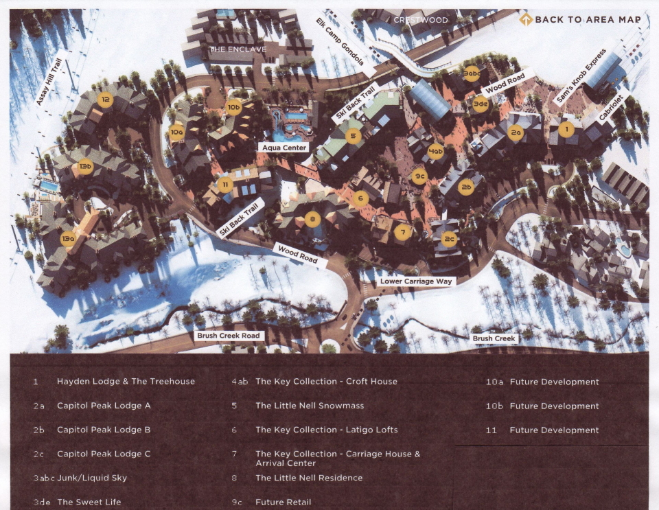 snowmass base village condo map aspen snowmass real estate