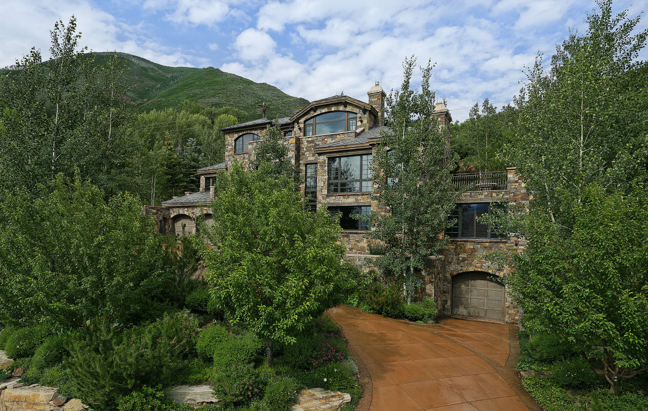 Aspen snowmass area real estate on slow pace upward for Aspen house