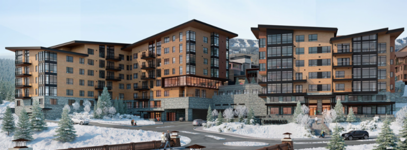 One Snowmass Base Village contemporary condo residences for sale